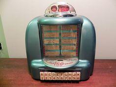 Vintage 1950's Seeburg Wall-O-Matic 100 3W-1 Jukebox by starrhop