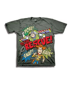 This Charcoal Toy Story 'To the Rescue' Tee - Toddler by Toy Story is perfect! #zulilyfinds