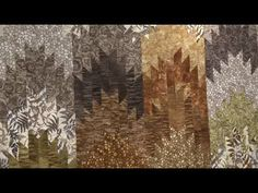 How to Make the Woodland Peaks and Valleys Quilt