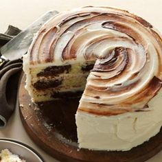 Marvelous Marble Cake Recipe from Taste of Home -- shared by Ellen Riley of Birmingham, Alabama