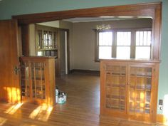 entryway china cabinet - Google Search