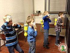 Atemschutzübung Kinderfeuerwehr