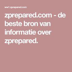 zprepared.com-de beste bron van informatie over zprepared.