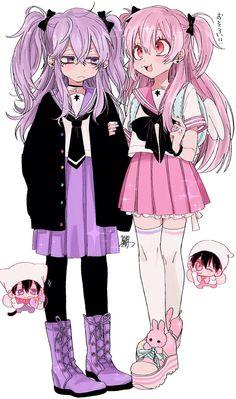 images for anime art Kawaii Anime Girl, Manga Kawaii, Arte Do Kawaii, Kawaii Art, Anime Art Girl, Cute Art Styles, Cartoon Art Styles, Kawaii Drawings, Cute Drawings