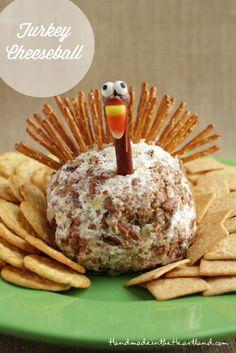 Thanksgiving Cheese Ball