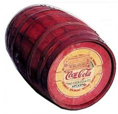 Coca-Cola syrup originally shipped in red kegs - creating the color association with the beverage.