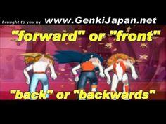 Learn Japanese: Left, Right, Forward, Back GenkiJapan.net (song)