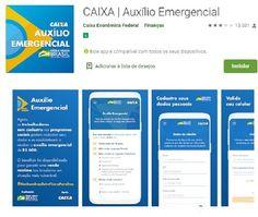 Quem irá receber o Auxílio Emergencial App, Boarding Pass, Savings Bank, Apps