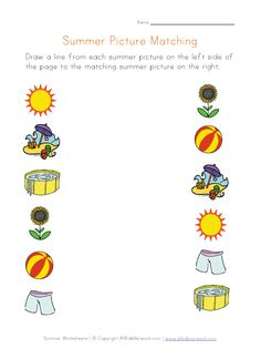 View and Print Your Bug Picture Matching Worksheet | Toddler ...