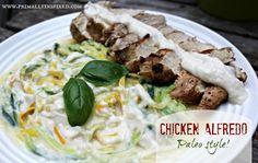 Chicken Alfredo – Paleo style! | Primally Inspired