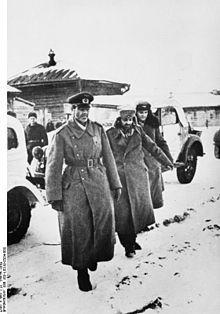 1943年1月31日、スターリングラード攻防戦、フリードリヒ・パウルス元帥降伏