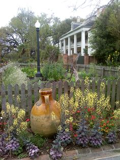 Houmas Plantations near New Orleans.   They have gorgeous lush gardens!