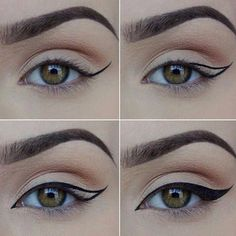Best Ideas For Makeup Tutorials    Picture    Description  Noticing where the outlines angle and hit the lid in relation to the pupil. Will try. Once again.    - #Makeup https://glamfashion.net/beauty/make-up/best-ideas-for-makeup-tutorials-noticing-where-the-outlines-angle-and-hit-the-lid-in-relation-to-the-pupil-will/