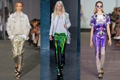 Why Are Metallic Pants a Trend?