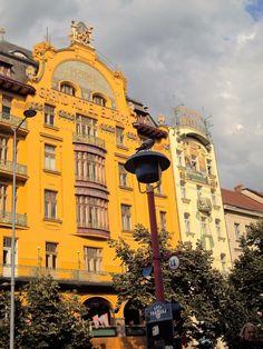 Arte Nova   Praça de S. Venceslau Praga