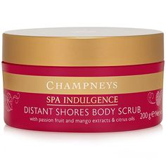 Champneys Spa Indulgence Distant Shores Body Scrub - 200g has been published at http://beauty-skincare-supplies.co.uk/champneys-spa-indulgence-distant-shores-body-scrub-200g/