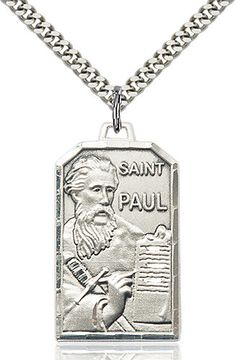 St. Paul the Apostle Pendant (Sterling Silver) by Bliss | Catholic Shopping .com
