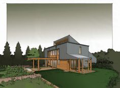 House in Indiana: Tom Bassett-Dilley Architect