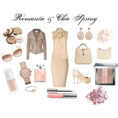Romantic & Chic Spring, created by susanagc