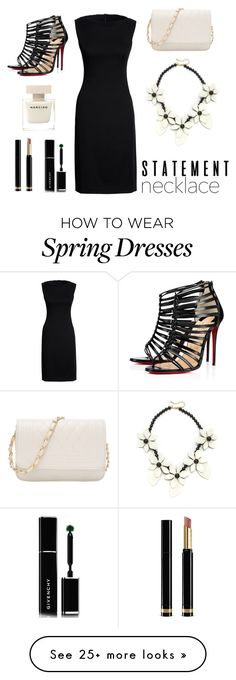 """""""Untitled #309"""" by hatrent on Polyvore featuring Canvas by Lands' End, Kate Spade, Givenchy, Gucci and Christian Louboutin"""