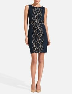 i will have you soon!!!     Lace Inset Sheath Dress from THELIMITED.com