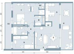 In Meno Di 100 Mq Una Casa Moderna Con Geometrie A 3 Colori Casa