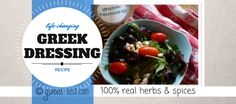 Y'all. Try this Greek dressing mix once and you'll be *so* hooked! It's as good or better than the dressing in my favorite Greek deli...with fat-free version
