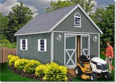 Belmont 12' Wood Storage Shed Kit The Belmont 12' Wood Storage Shed Kit has classic styling with a traditional gable roof line. This backyard wood shed, which comes with either a 12'x16', 12'x20' or 12'x24' footprint, offers ample storage capacity as well as the flexibility to be used as a cabin.