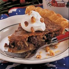 Dixie Pie... this variation uses raisins instead of chocolate chips, but it has the coconut and brown sugar I remember from the mix. Think I'll try it, too, and probably wind up settling on a combination of the two!