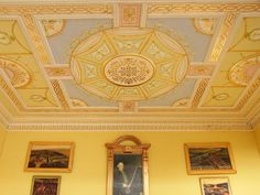 Classical ceiling by sweetington, via Flickr