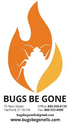 A logo TRU created for a local pest control company, Bugs Be Gone