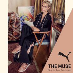 sagiakos.grΓίνε η δική σου μούσα με τα εντυπωσιακά #PUMA Muse Satin!🔝🔝🔝 #sagiakosgr #sneakers #muse #CaraDelevingne #shoelovers #bestylish Satin, Spring Summer 2018, Muse, Hot, Skirts, Women, Fashion, Moda, Skirt