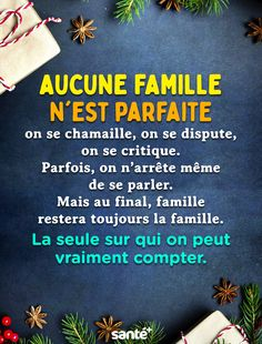 Aucune famille n'est parfaite on se chamaille, on se dispute, on se critique… Best Quotes, Love Quotes, Happy Friendship, Quotes About Love And Relationships, Thinking Quotes, Positive Inspiration, French Quotes, French Lessons, Free Personals