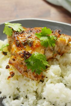 Here's a must-read article from Delish:  Cilantro-Lime Chicken