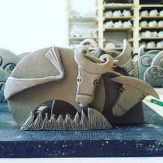 Bestiamine. #mucca#toro#sculpture #antonibatzu