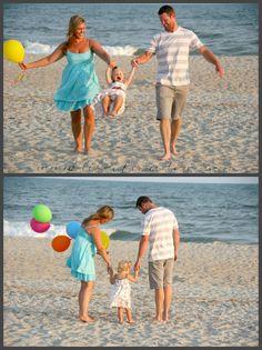 family beach birthday pics