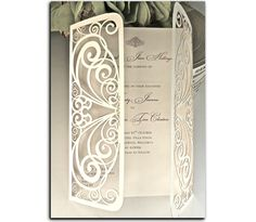 Fairytale Laser Cut Stationery from www.heritage-stationery.com