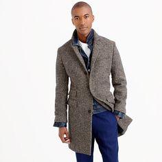 Herringbone topcoat