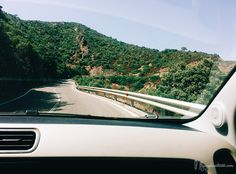 On the road in Sardinia