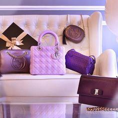 Instagram media reebonzsg - REEBONZ XMAS SPECIAL ------------------------------------------------- So what did you unveil inside your Reebonz box? Like if you got a purple bag like any of these.  xxBecs  #ReebonzSG #ReebonzXmas #Xmas #UnveilTheSurprise #Ferragamo #Gucci #BottegaVenetta #Dior #Purple