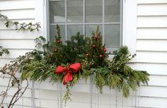 weihnachts fensterdeko außen