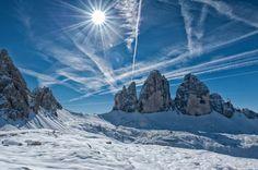 Drei Zinnen, Südtirol / Tre Cime di Lavaredo, Alto Adige; siehe http://de.wikipedia.org/wiki/Drei_Zinnen