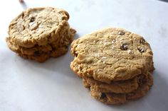 These gluten and dairy free cookies simple and delicious. There's no flour or baking mix in this recipe; natural peanut butter is the star.