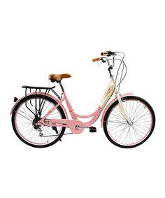 Salmon Pink City Bike
