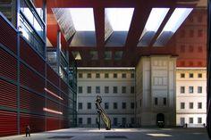 Reina Sofia Art Center #museum #madrid  by Jean Nouvel Photo by W. Gurak @wg