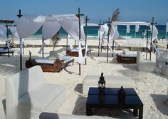 would like to have beach lounge areas for the reception