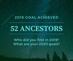 This past year, I focused on direct ancestors as family groups and wrote out a list at the beginning of the year. What goals did you meet last year? Who did you find? What are your 2020 family research goals? Research Question, Family Research, System Administrator, Genealogy Research, Previous Year, To Focus, Helping People, Meet, Goals