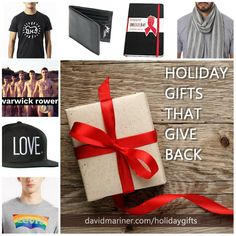 Holiday gifts you can buy for your friends that also help make the world a better place! davidmariner.com/holidaygifts