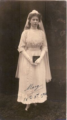 The Confirmation of Princess Mary of the UK  1913