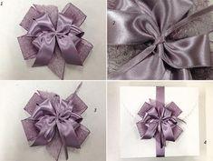 Cách thắt nơ ruy-băng cho hộp quà xinh xắn 11